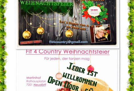 WEIHNACHTSFEIER FIT4COUNTRY 14.12.2019